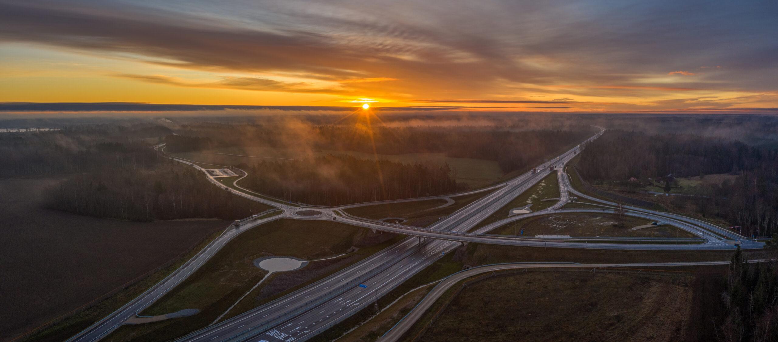 Ardu-Ojasoo liiklussõlm, Kose-Võõbu neljarealine